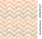 lace  seamless pattern with...   Shutterstock . vector #309639137
