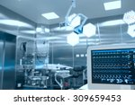 Stock photo monitoring of vital signs of the patient in the operating room 309659453
