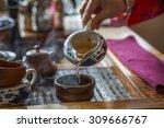 chinese tea ceremony | Shutterstock . vector #309666767