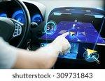 transport  destination  modern... | Shutterstock . vector #309731843
