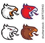 eagle sport logotype | Shutterstock .eps vector #309733943