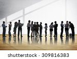business people discussion... | Shutterstock . vector #309816383