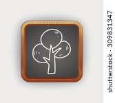 plant doodle | Shutterstock .eps vector #309831347