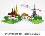 thailand travel concept  | Shutterstock . vector #309836627