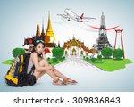 thailand travel concept  | Shutterstock . vector #309836843
