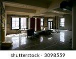 modern loft condo under... | Shutterstock . vector #3098559