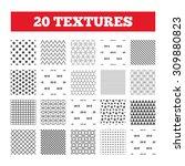 seamless patterns. endless... | Shutterstock .eps vector #309880823