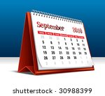 vector illustration of a 2010... | Shutterstock .eps vector #30988399