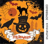 """halloween banner"" for design 