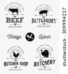 Calligraphic Butcher Shop...
