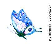 butterflies design  | Shutterstock . vector #310001387
