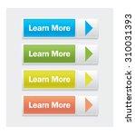 vector web interface buttons.... | Shutterstock .eps vector #310031393