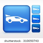 luxury sports car colorful... | Shutterstock .eps vector #310050743