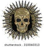 Skull Coat Of Arms