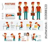 Posture Infographic Elements....