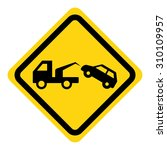 tow away no parking sign | Shutterstock .eps vector #310109957