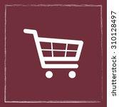 shopping cart sign icon  vector ... | Shutterstock .eps vector #310128497