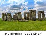 stonehenge   an ancient... | Shutterstock . vector #310142417