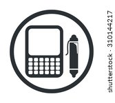 vector illustration of computer ...   Shutterstock .eps vector #310144217