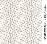 vector seamless pattern. modern ... | Shutterstock .eps vector #310148663