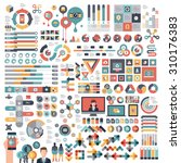 vectors info graphics set and... | Shutterstock .eps vector #310176383