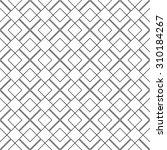 a geometric linear pattern ... | Shutterstock .eps vector #310184267