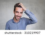 smart business man   Shutterstock . vector #310219907