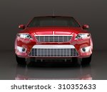 Car Front View. The Image Of A...