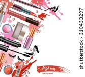 cosmetics  and fashion... | Shutterstock .eps vector #310433297