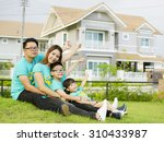 the asian family play together... | Shutterstock . vector #310433987