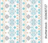 ethno seamless pattern. ethnic... | Shutterstock .eps vector #310630727