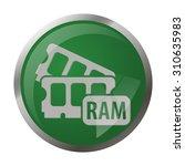 Ram Icon. Ram Icon Vector. Ram...