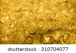 texture of gold marble slab... | Shutterstock . vector #310704077