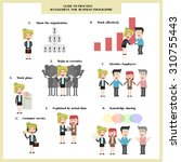 guide  to  practive management  ... | Shutterstock .eps vector #310755443