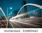 modern city road arc ironbridge ... | Shutterstock . vector #310804463
