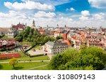 summer panorama of city of... | Shutterstock . vector #310809143