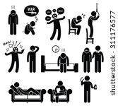 psychology psychiatric mental... | Shutterstock . vector #311176577