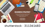 flat design illustration... | Shutterstock .eps vector #311361683