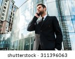 staying in touch with clients.... | Shutterstock . vector #311396063