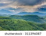russia  the caucasus mountains  ... | Shutterstock . vector #311396087