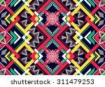 geometric ethnic pattern... | Shutterstock .eps vector #311479253