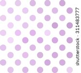 Purple Polka Dots Background ...
