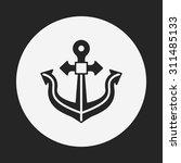 anchor icon | Shutterstock .eps vector #311485133