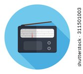 radio icon | Shutterstock .eps vector #311501003