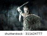 Gladiator Or Warrior Posing...