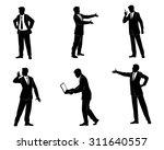 vector illustration of a six...   Shutterstock .eps vector #311640557