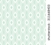 vector green ornamental pattern ... | Shutterstock .eps vector #311668403