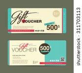 vector illustration gift...   Shutterstock .eps vector #311703113