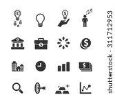 business icons set vector | Shutterstock .eps vector #311712953
