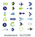 directions icons vector | Shutterstock .eps vector #31172290